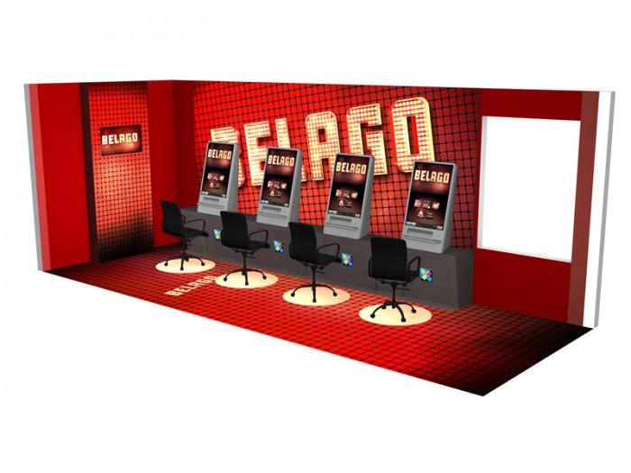 Belago interiør visualisering