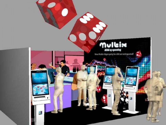Multix messestand