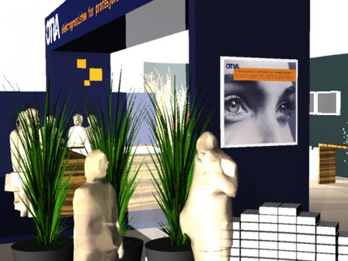 Otra messestand visualisering