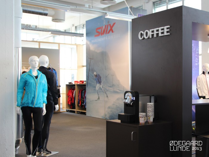 SWIX showroom